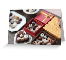 Chocolates for my Sweet Greeting Card