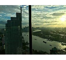 Vietnam - Ho Chi Minh City - view from Le Reverie Saigon Photographic Print