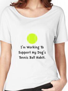 Dogs Tennis Ball Women's Relaxed Fit T-Shirt