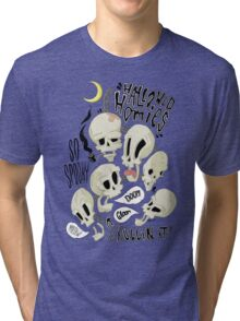 Hallowed Homies Tri-blend T-Shirt