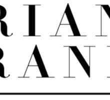 Ariana Grande logo (My Everything era) Sticker