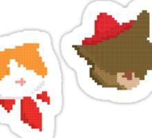 Pixel Cats Sticker