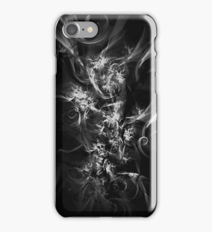 Ghost - Grey/Black Abstract Design iPhone Case/Skin