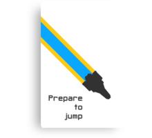 Prepare to jump (Explore) Canvas Print