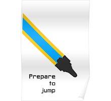 Prepare to jump (Explore) Poster