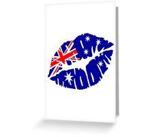Australia kiss Greeting Card