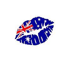 Australia kiss Photographic Print