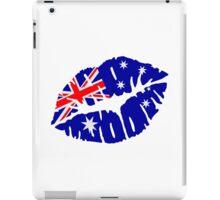 Australia kiss iPad Case/Skin