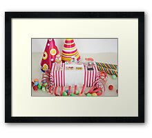 Birthday Diet Framed Print
