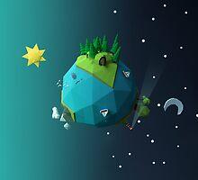 Little Planet by scarriebarrie