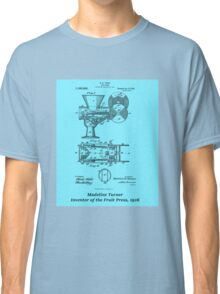 Madeline Turner, Inventor of the Fruit Press Classic T-Shirt
