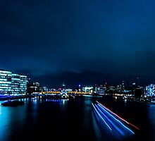 Nightscape - Blue is the Colour by ncp-photography