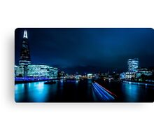 Nightscape - Blue is the Colour Canvas Print