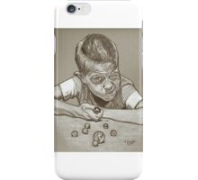 Marbles drawing iPhone Case/Skin