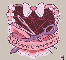 Grand Couturier Emblem - Light BG by munchkinworks