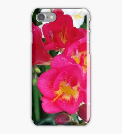 Pink and yellow brights iPhone Case/Skin