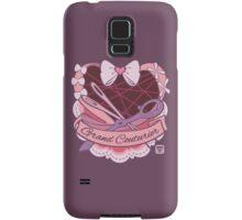 Grand Couturier Emblem - Dark BG Samsung Galaxy Case/Skin