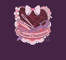 Grand Couturier Emblem - Dark BG Womens Fitted T-Shirt