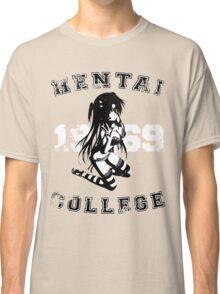 Hentai College 1969 (Warn) Classic T-Shirt