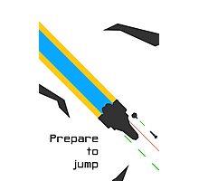 Prepare to jump (Battle) Photographic Print