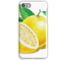 Yellow Grapefruit iPhone Case/Skin