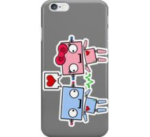 Robots in Love iPhone Case/Skin