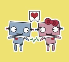 Robots in Love Kids Clothes