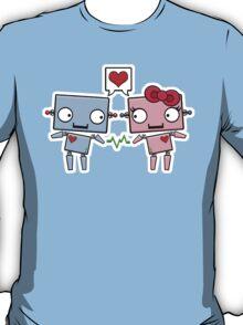 Robots in Love T-Shirt