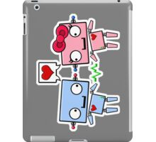 Robots in Love iPad Case/Skin