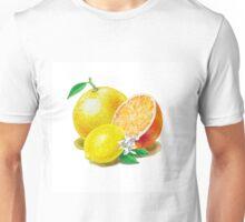 Grapefruit Orange Lemon Trio Unisex T-Shirt