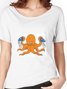 Ironing Octupus Women's Relaxed Fit T-Shirt