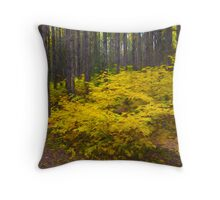 Algonquin Forest Throw Pillow