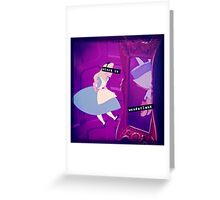 Stuck in Wonderland Greeting Card