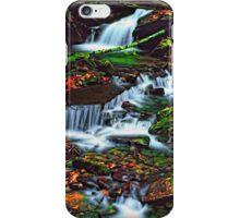 MOUNTAIN STREAM,AUTUMN iPhone Case/Skin