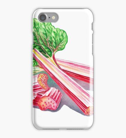Rhubarb Stalks iPhone Case/Skin