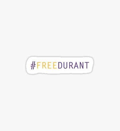 Free Durant - Lakers Edition Sticker