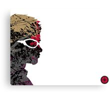 "A Splash of Heroism: ""Hawkeye"" Canvas Print"