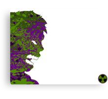 "A Splash of Heroism: ""Hulk"" Canvas Print"