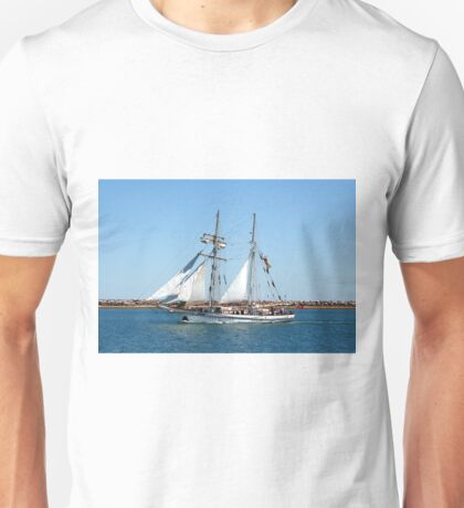 Sailing ship 1: One and All Unisex T-Shirt