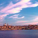 Sunset On Valletta by Xandru