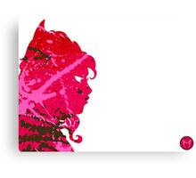 "A Splash of Heroism: ""Scarlet Witch"" Canvas Print"