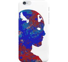 "A Splash of Heroism: ""Captain America"" iPhone Case/Skin"