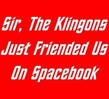 Sir, The Klingons Just Friended Us by geeknirvana