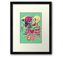 Broken heart Framed Print