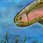Angry Trout by Caryn Colgan