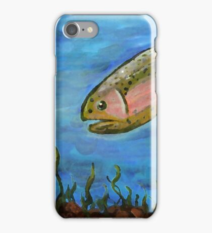 Angry Trout iPhone Case/Skin