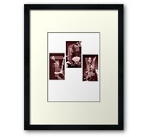 Them Crooked Vultures Framed Print