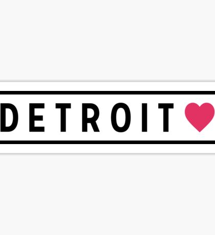 Detroit MI Lite Sticker