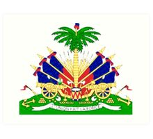 Haiti coat of Arms Art Print