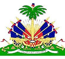Haiti coat of Arms Photographic Print